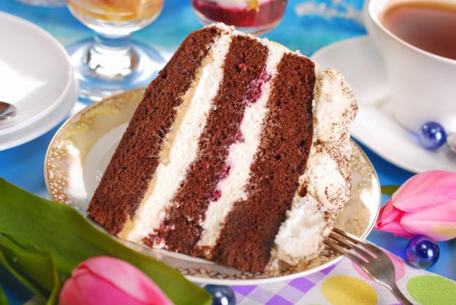 Торт з вишнею