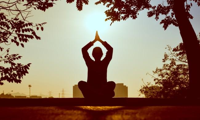 Медитация перед важным событием помогает расслабиться