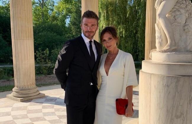 Вікторія та Девід Бекхеми привітали одне одного з річницею весілля