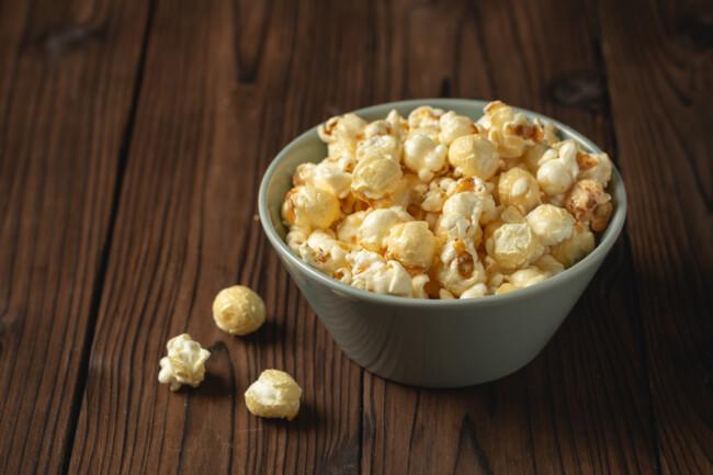 Попкорн может бы как сладким, так и соленым