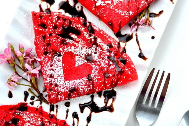 Млинці на День Валентина