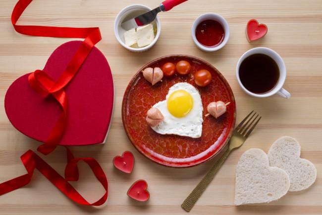 Сніданок на День святого Валентина