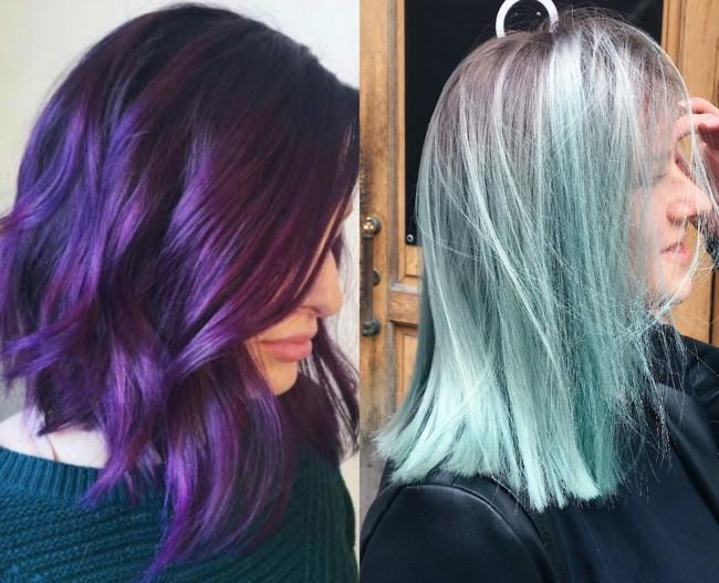 Модный цвет волос тенденции
