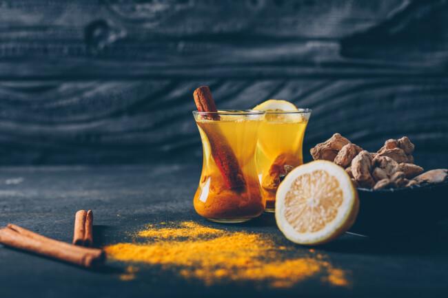 Имбирный чай полезен для иммунитета