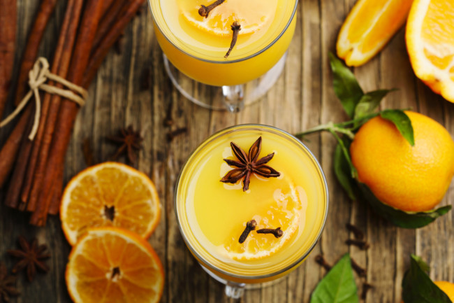 Апельсиновый напиток для иммунитета
