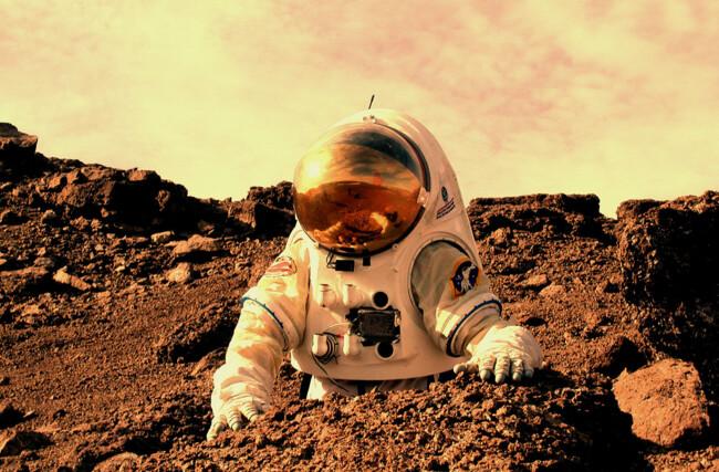 Марс может стать домом для человечества в будущем
