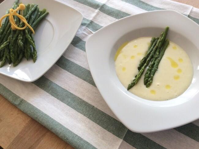 Спаржевый крем-суп