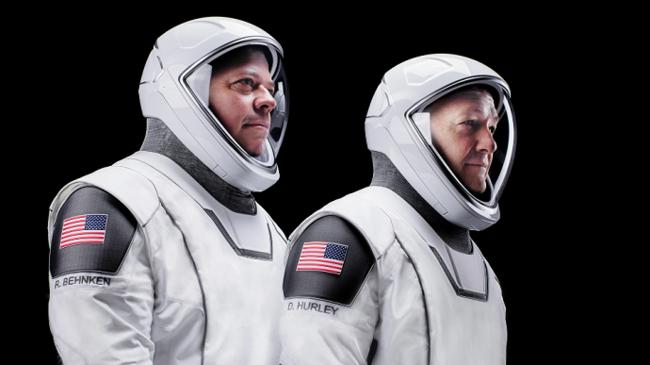 Екіпаж Crew Dragon - Даг Херлі і Боб Бенкен