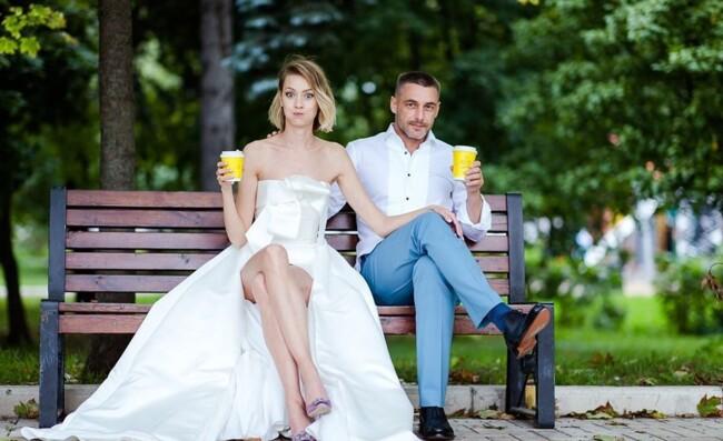 Актеры Евгения Лоза и Антон Батырев