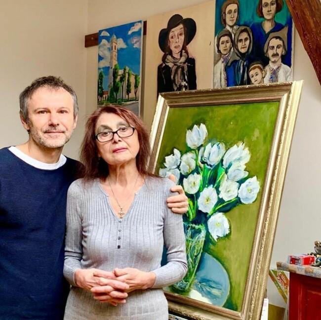 Святослав Вакарчук вперше показав, як виглядає його мама: фото