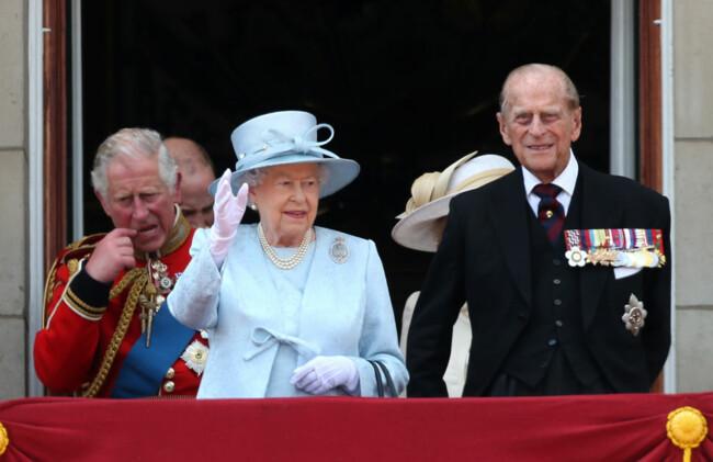 Елизавета II с принцем Филиппом0