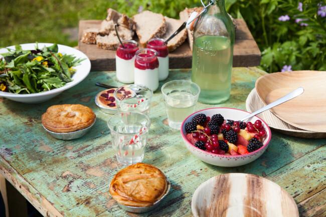 Еда для пикника может быть полезной