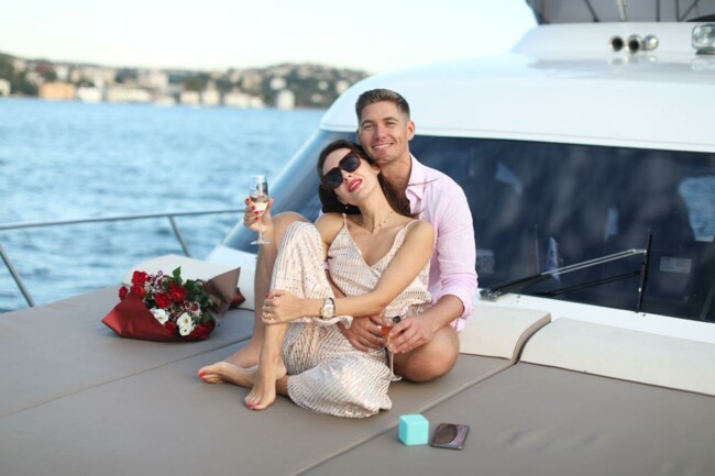 Владимир Остапчук и Кристина Горняк