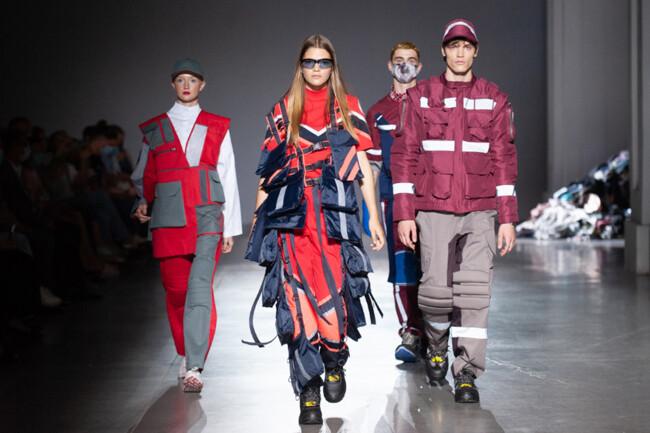 На Ukrainian Fashion Week представили одежду для сотрудников муниципальных служб