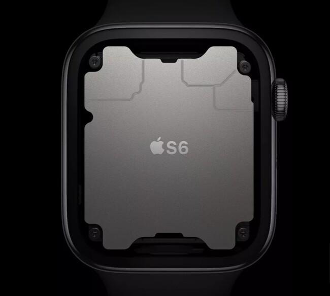 Процесор S6 Apple Watch Series 6