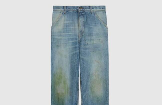 Gucci випустив джинси з плямами за 22 тисячі гривень