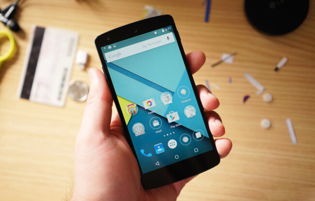 Android 5.0 – 5.1 Lollipop