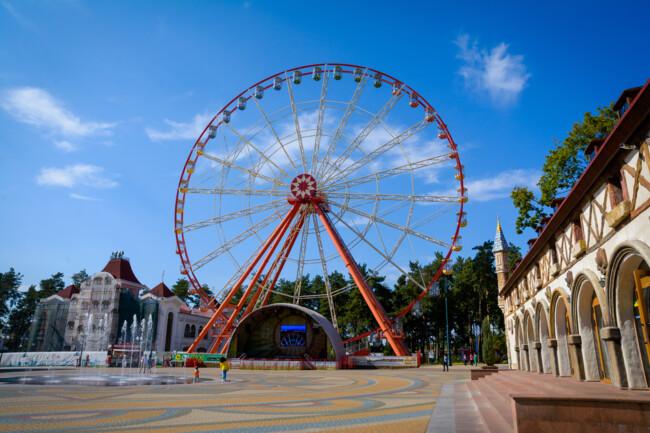 Харків відомий своїми парками