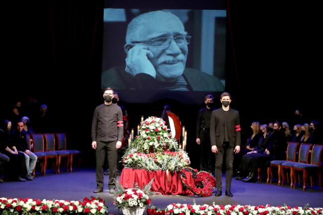 Армена Джигарханяна похоронили в Москве: фото