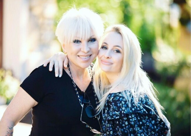 Валентина Легкоступова с дочерью