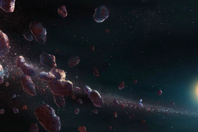 Найденный астероид является уникальным космическим артефактом Фото: naked-science.ru