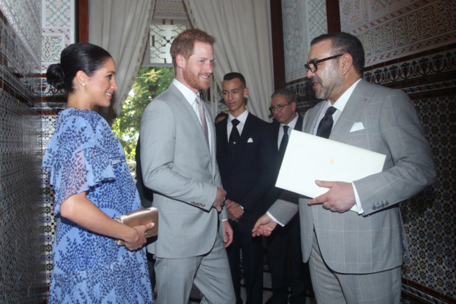 Меган Маркл и принц Гарри в Марокко
