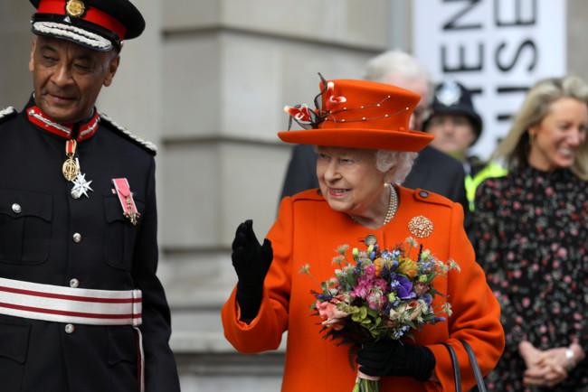 Королева Великобритании в Музее науки
