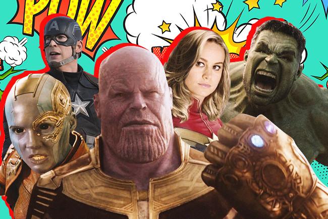 """Как выглядят герои """"Мстителей"""" в реальной жизни и в гриме"""