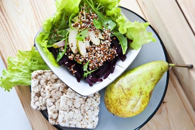 Постный свекольный салат