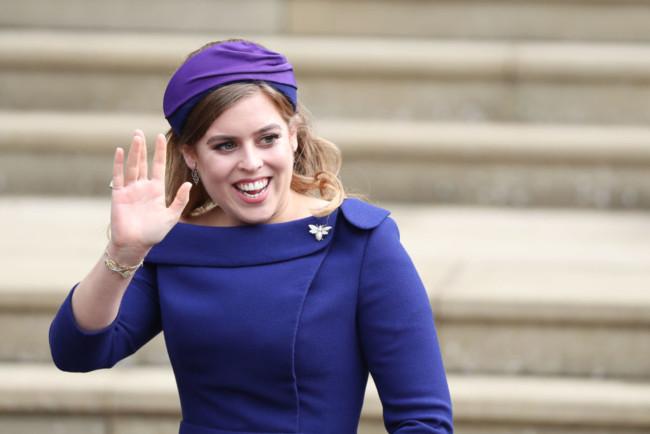 Внучка королевы Великобритании Елизаветы II принцесса Беатрис