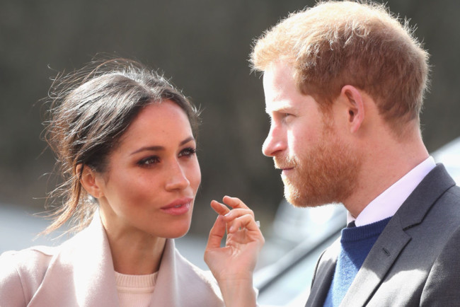 Принц Гаррі зробив різке зауваження Меган Маркл: відео