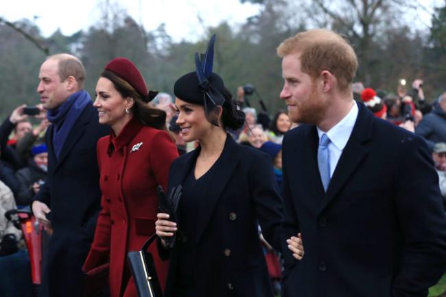 Принц Уильям и Кейт Миддлтон объединились с принцом Гарри и Меган Маркл