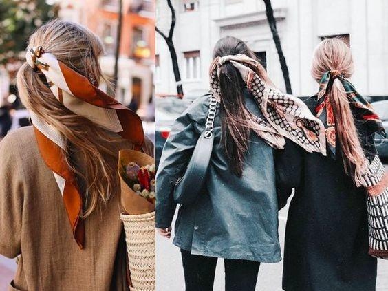 Модні тренди 2020-2021. Як носити хустку стильним дівчатам - поради експертів