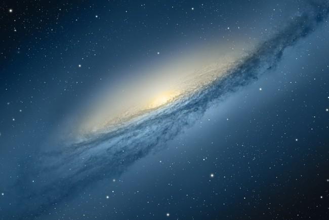 В галактику залетела звезда-странник