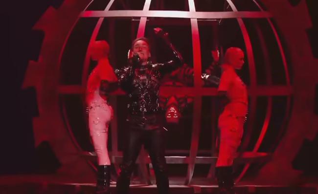 Выступление Hatari из Исландии в финале Евровидения 2019