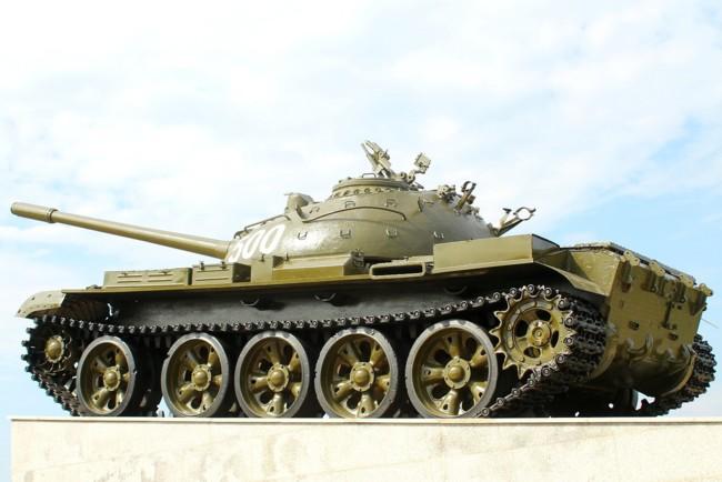 Поляк угнал танк Т-55
