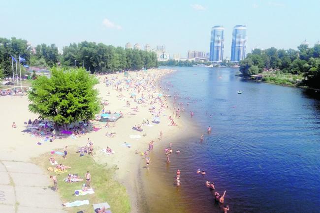 могу назвать пляжные фотографии из киевского гидропарка ценят начальство