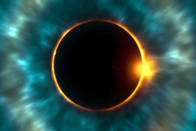 Сонячне затемнення почнеться о 22:23 за київським часом