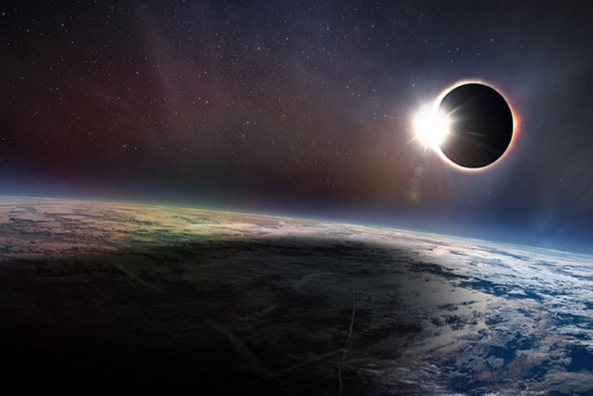 Большая часть затмения произойдет в южной части Тихого океана