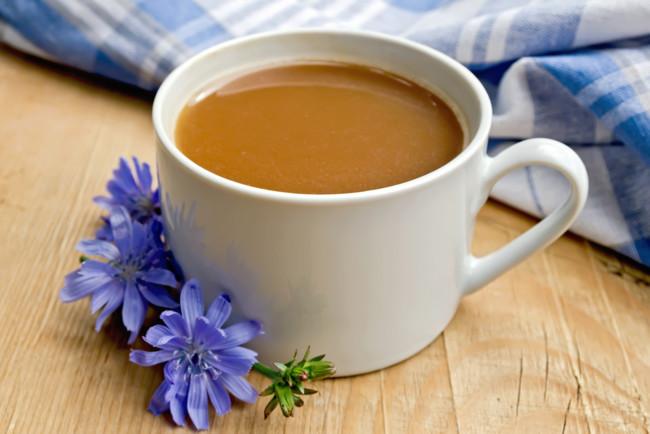 Цикорий - напиток, похожий на кофе
