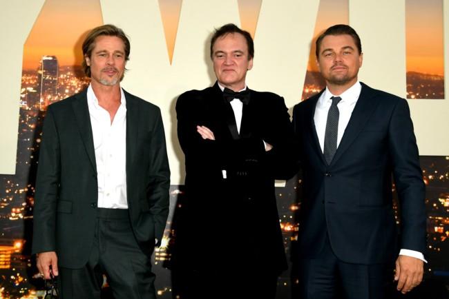 Тріо красенів: Ді Капріо, Тарантіно і Бред Пітт викликали фурор на прем'єрі фільму