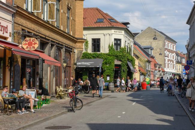 Місто Орхус в Данії вражає красою