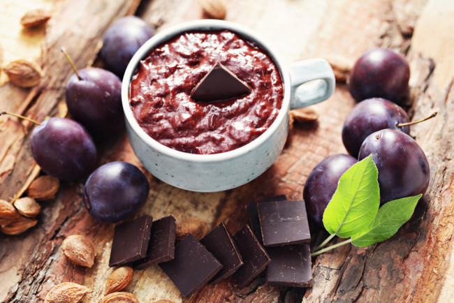 Варенье из сливы с шоколадом