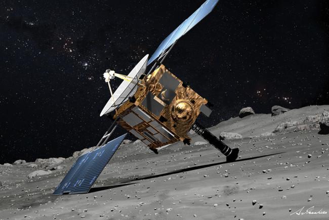 Космічний корабель зіткнувся з гігантським астероїдом: відео
