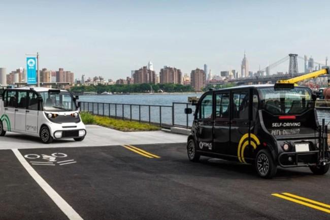 У Нью-Йорку запустили автобуси без водіїв: як це працює