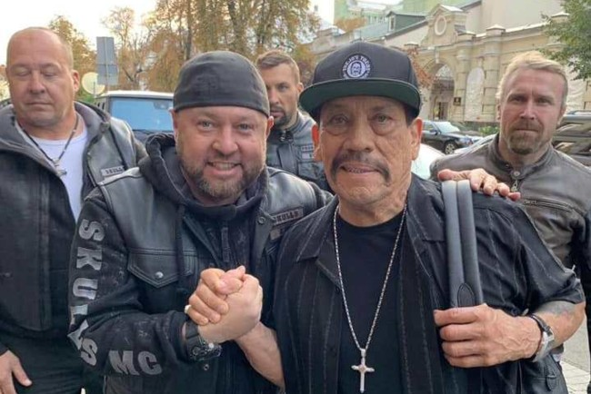 Денні Трехо прибув до Києва