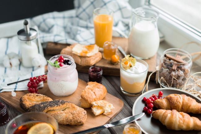 Простые завтраки за 5 минут