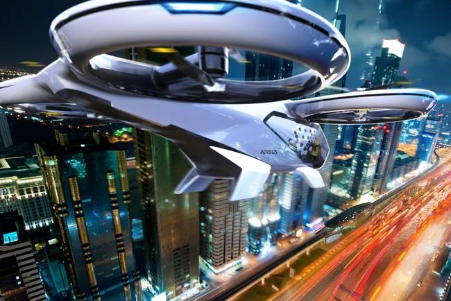 Hyundai рассматривает летающие автомобили, как способ решения транспортных проблем