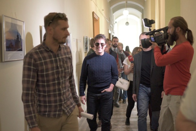 Том Круз во Львове Фото: facebook.com/lviv.adm