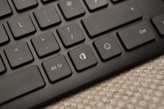 Microsoft випустила клавіатуру з двома новими клавішами: фото